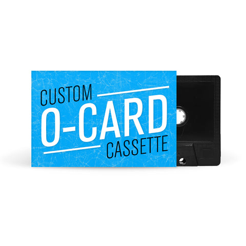 O-CARD Cassette Tapes (Black)