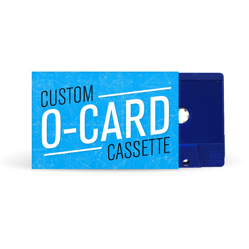 O-CARD Cassette Tapes (Blue)