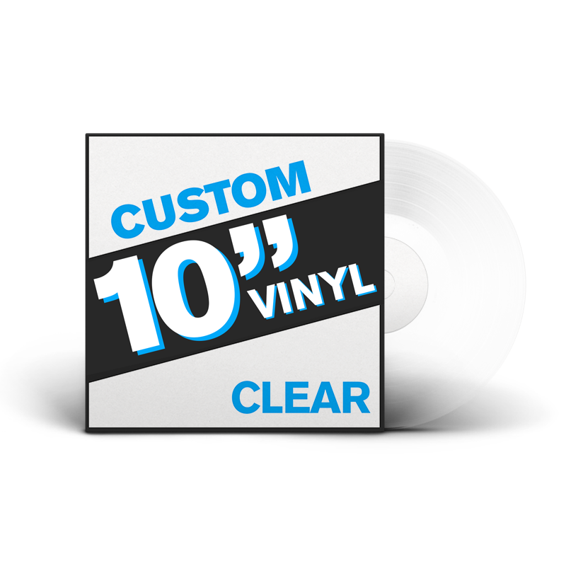 "10"" Lathe Cut Vinyl Record (CLEAR)"