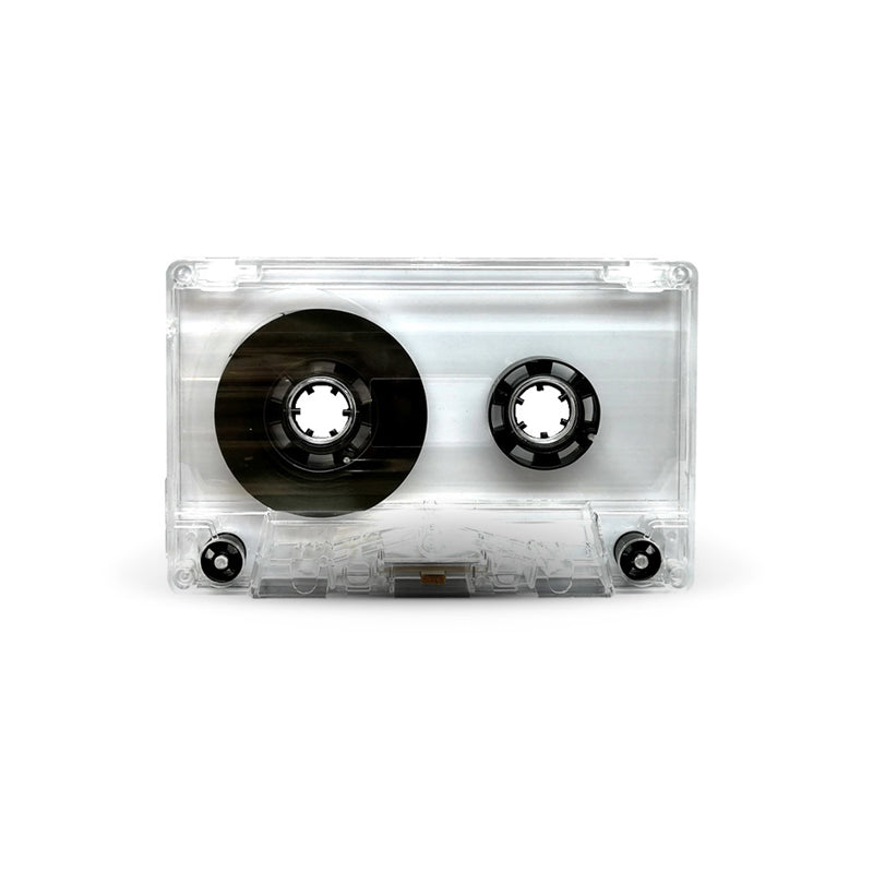 J-CARD Cassette Tapes (Clear)