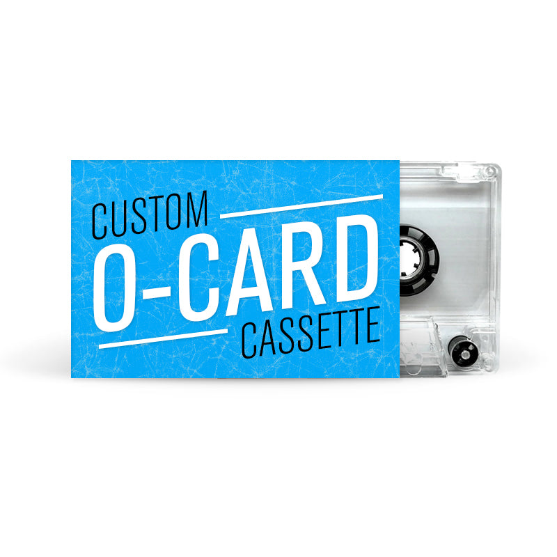 O-CARD Cassette Tapes (Clear)