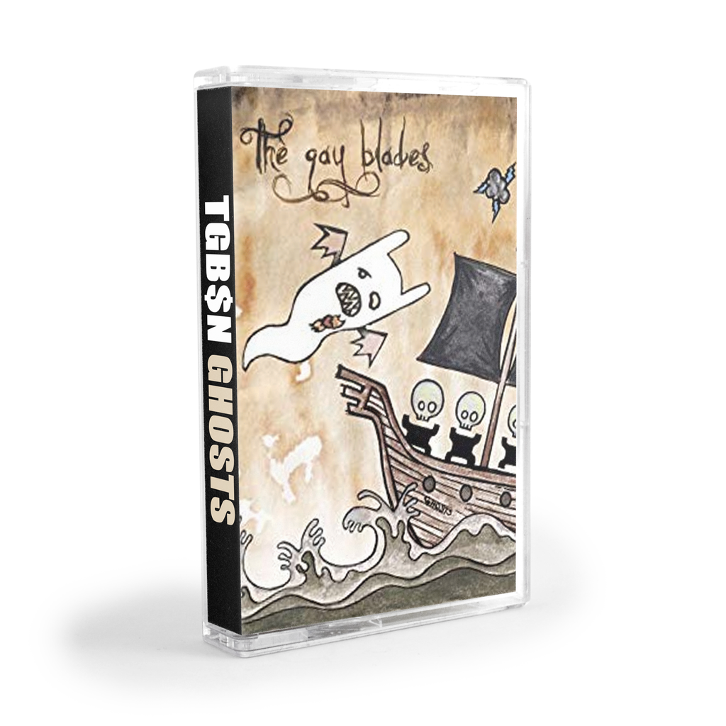 The Gay Blades : Ghosts (Cassette)
