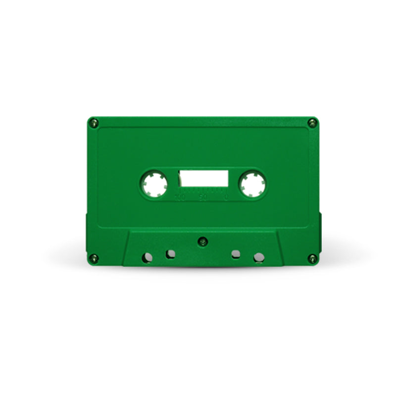 J-CARD Cassette Tapes (Green)