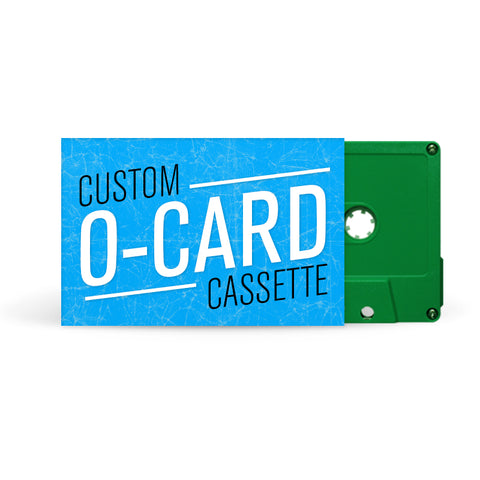 O-CARD Cassette Tapes (Green)