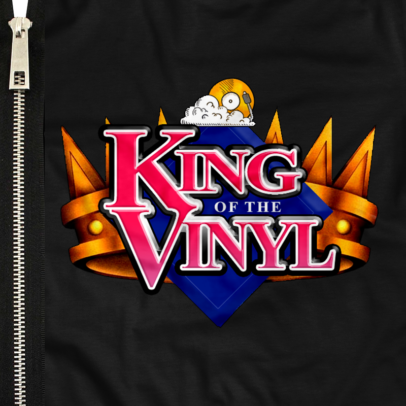 King of the Vinyl Zipup