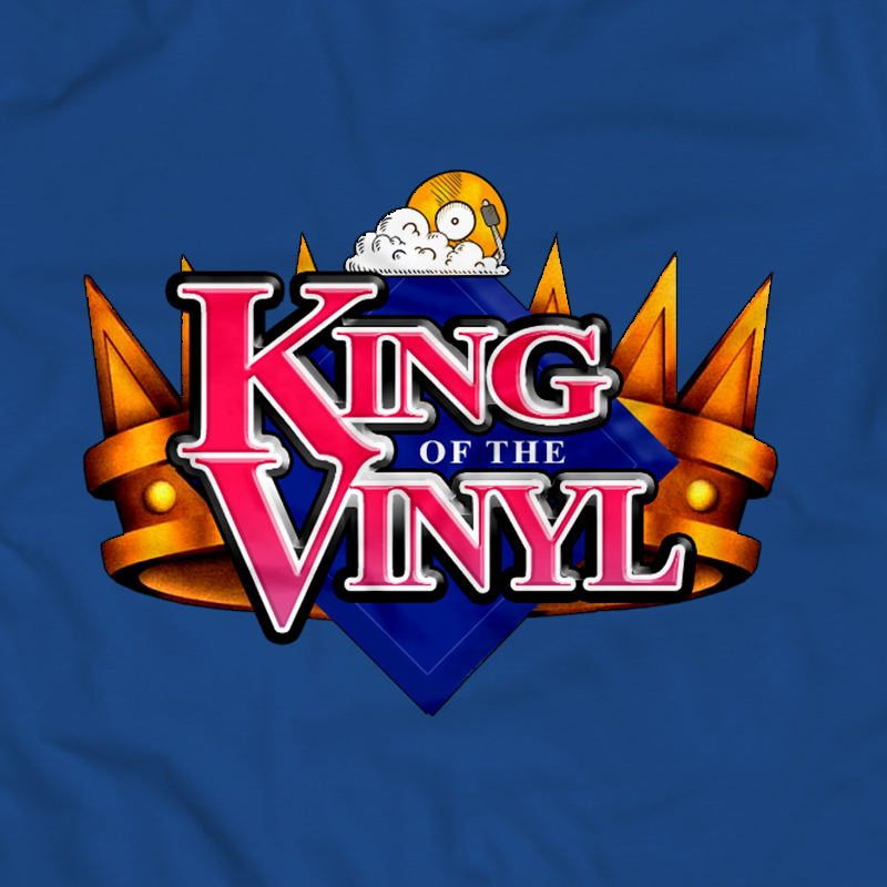 KING of the VINYL (Blue)