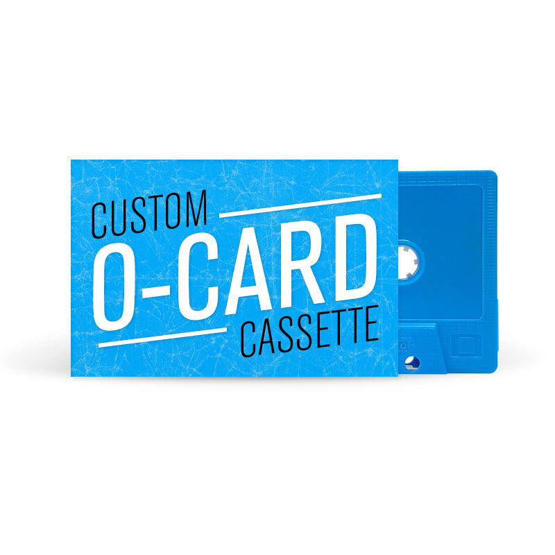 O-CARD Cassette Tapes (Light Blue)