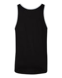 Tank Top - Black w/ White