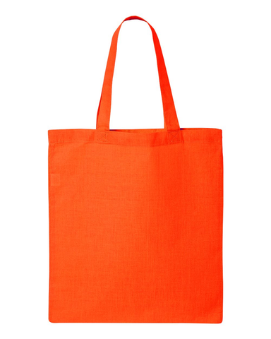 Custom Tote Bag - Orange