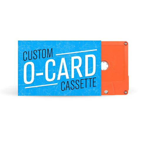 O-CARD Cassette Tapes (Orange)