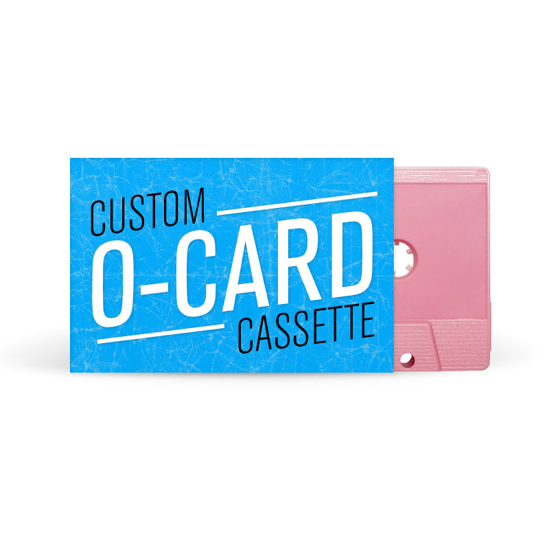 O-CARD Cassette Tapes (Pink)