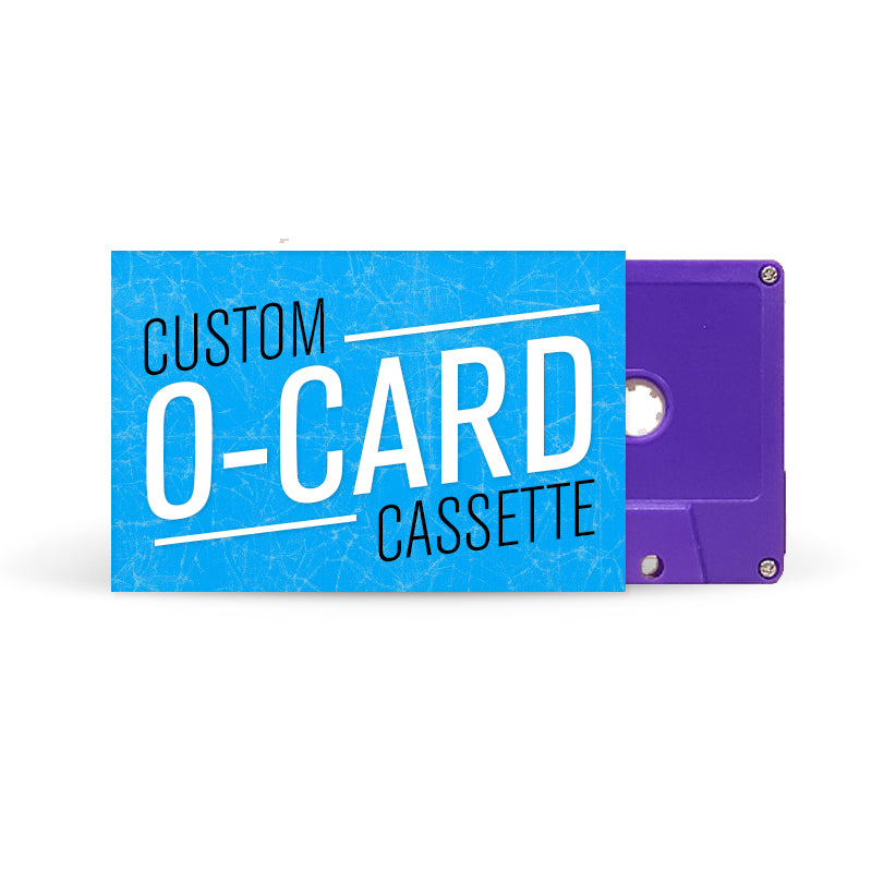 O-CARD Cassette Tapes (Purple)