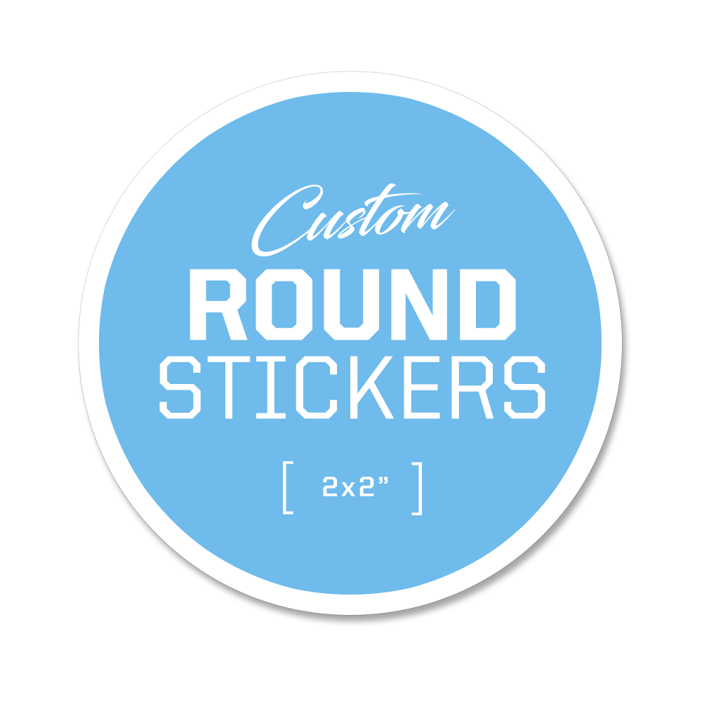 Custom Round Stickers - 2x2""