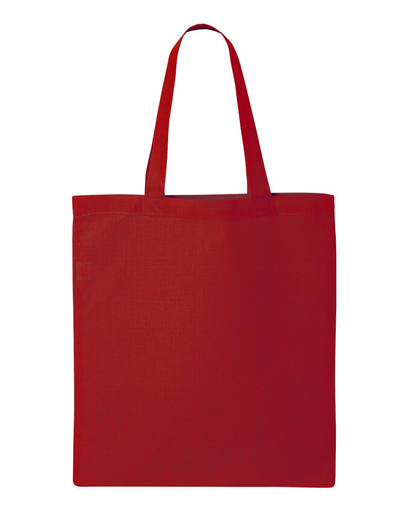 Custom Tote Bag - Red