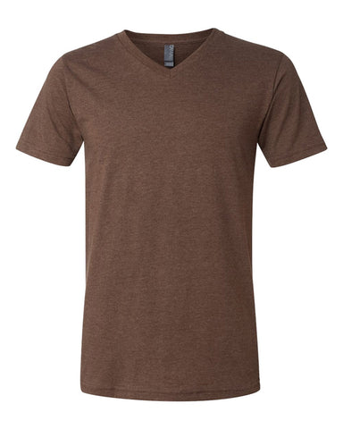 V-Neck - Heather Brown