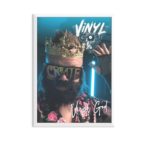 VINYL GOD Autographed Poster (Limited Edition)