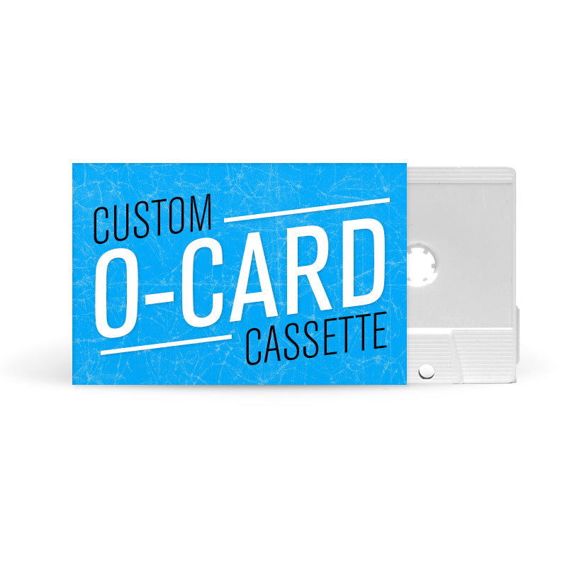 O-CARD Cassette Tapes (White)