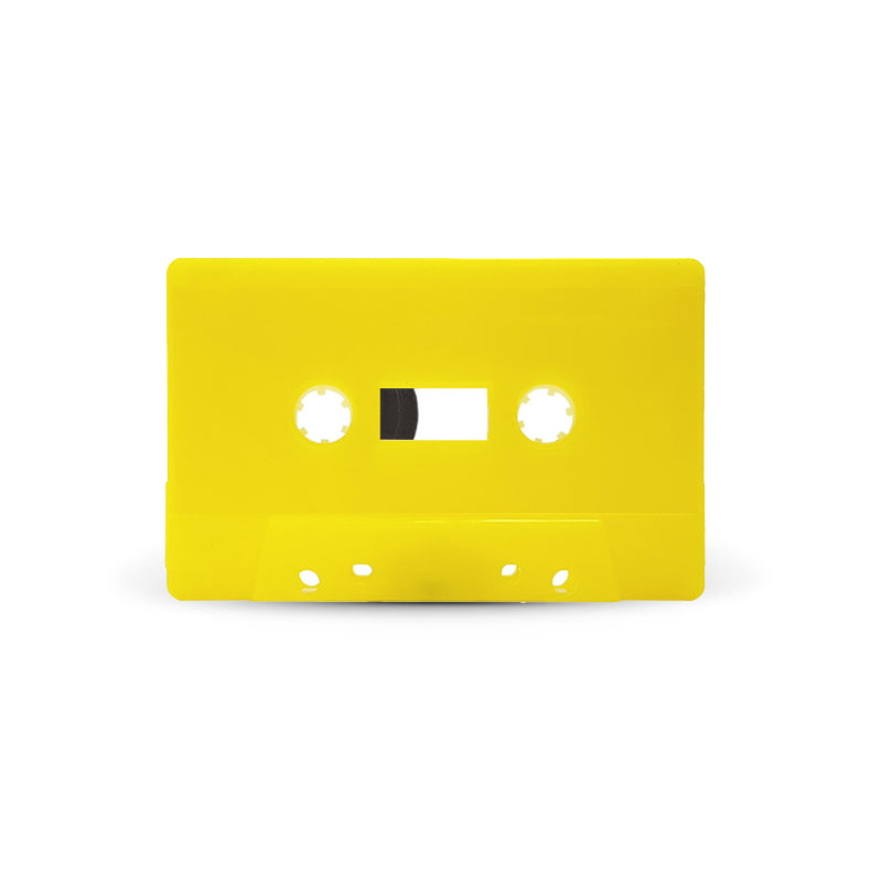J-CARD Cassette Tapes (Yellow)