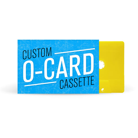 O-CARD Cassette Tapes (Yellow)