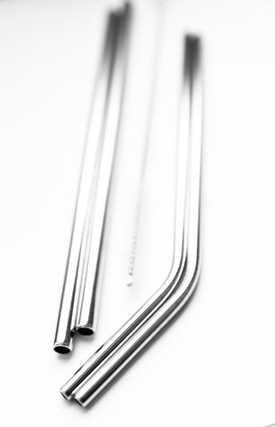 Stainless Steel Straws 4-Pack