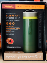 GRAYL Ultralight Water Purifier Bottle (multiple colors available)