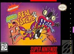AAAHH!!! Real Monsters BOXED COMPLETE    SUPER NINTENDO ENTERTAINMENT SYSTEM