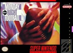 ABC Monday Night Football BOXED COMPLETE    SUPER NINTENDO ENTERTAINMENT SYSTEM