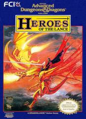 Advanced Dungeons & Dragons Heroes of the Lance BOXED COMPLETE    NINTENDO ENTERTAINMENT SYSTEM