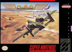 ASP Air Strike Patrol DMG LABEL    SUPER NINTENDO ENTERTAINMENT SYSTEM
