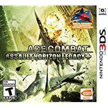 Ace Combat Assault Horizon Legacy Plus    NINTENDO 3DS