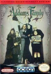 Addams Family BOXED COMPLETE    NINTENDO ENTERTAINMENT SYSTEM