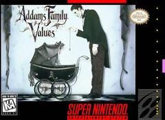 Addams Family Values DMG LABEL    SUPER NINTENDO ENTERTAINMENT SYSTEM