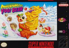 Adventures of Yogi Bear DMG LABEL    SUPER NINTENDO ENTERTAINMENT SYSTEM