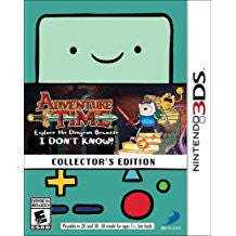 Adventure Time Explore the Dungeon Collectors Edition    NINTENDO 3DS