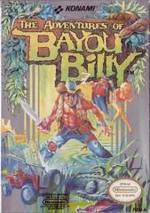 Adventures of Bayou Billy DMG LABEL    NINTENDO ENTERTAINMENT SYSTEM