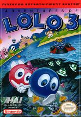Adventures of Lolo 3     NINTENDO ENTERTAINMENT SYSTEM
