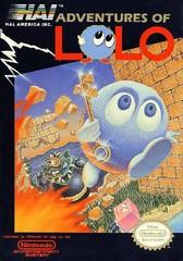 Adventures of Lolo DMG LABEL    NINTENDO ENTERTAINMENT SYSTEM