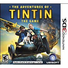Adventures of Tintin The Game    NINTENDO 3DS