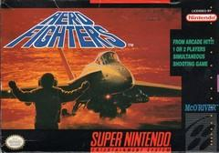 Aero Fighters BOXED COMPLETE    SUPER NINTENDO ENTERTAINMENT SYSTEM