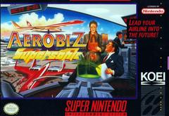 Aerobiz Supersonic    SUPER NINTENDO ENTERTAINMENT SYSTEM