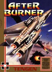 After Burner DMG LABEL    NINTENDO ENTERTAINMENT SYSTEM