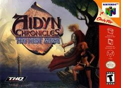 Aidyn Chronicles The First Mage DMG LABEL    NINTENDO 64