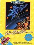 Air Buster DMG LABEL    SEGA GENESIS