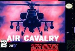 Air Cavalry BOXED COMPLETE    SUPER NINTENDO ENTERTAINMENT SYSTEM