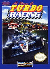 Al Unser Jrs Turbo Racing BOXED COMPLETE    NINTENDO ENTERTAINMENT SYSTEM
