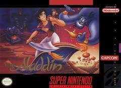 Disneys Aladdin DAMAGED LABEL    SUPER NINTENDO ENTERTAINMENT SYSTEM