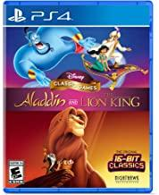 Aladdin & The Lion King-Disney Classic Games    PLAYSTATION 4