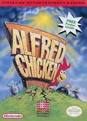 Alfred Chicken BOXED COMPLETE    NINTENDO ENTERTAINMENT SYSTEM