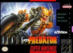 Alien vs Predator BOXED COMPLETE    SUPER NINTENDO ENTERTAINMENT SYSTEM