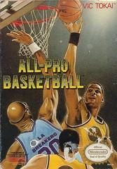 All Pro Basketball BOXED COMPLETE    NINTENDO ENTERTAINMENT SYSTEM